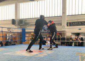 Sparring: Besonderes Training für Kaderturnier